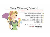 Mary's Cleaning Services - Professional housekeeping and gardening