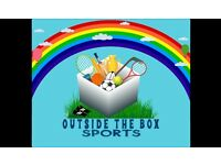 Outside The Box Sports 2-5 year old sports classes.