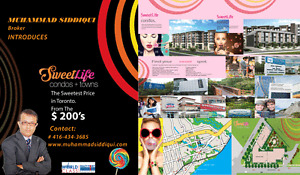 Sweetlife Towns/Condos University Suites  in Scarborough