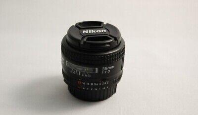 Nikon NIKKOR 35mm f/2 F2.0 D AF camera Lens 35.2 no Box