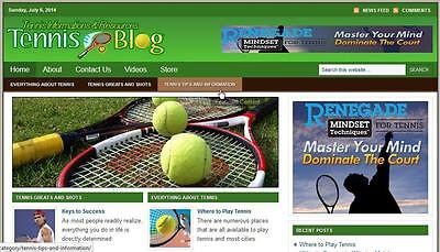 TENNIS STORE & WEBSITE WITH AMAZON AFFILIATE Installation + Free Hosting for sale  New York