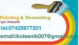 Profesional painter decoration.