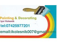 Profesional painter- decorater.