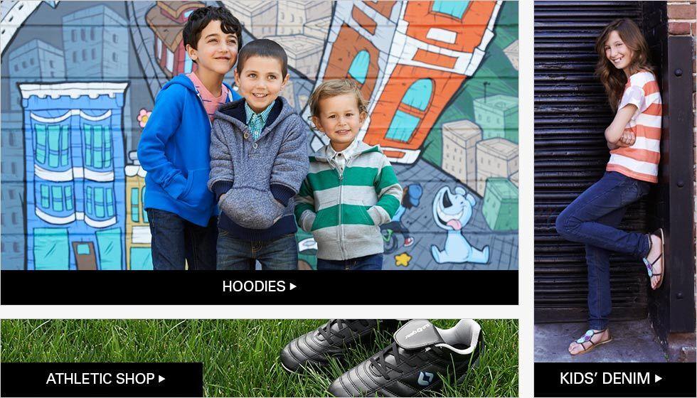 HOODIES | ATHLETIC SHOP | KIDS' DENIM