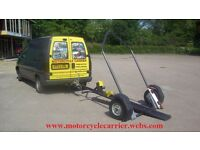 MOTORCYCLE TRAILER TILT/COLLAPSIBLE