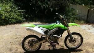 kx450F 2008 Motorbike