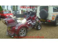 MOTORCYCLE TRIKE CARRIER/TRAILER DOLLY