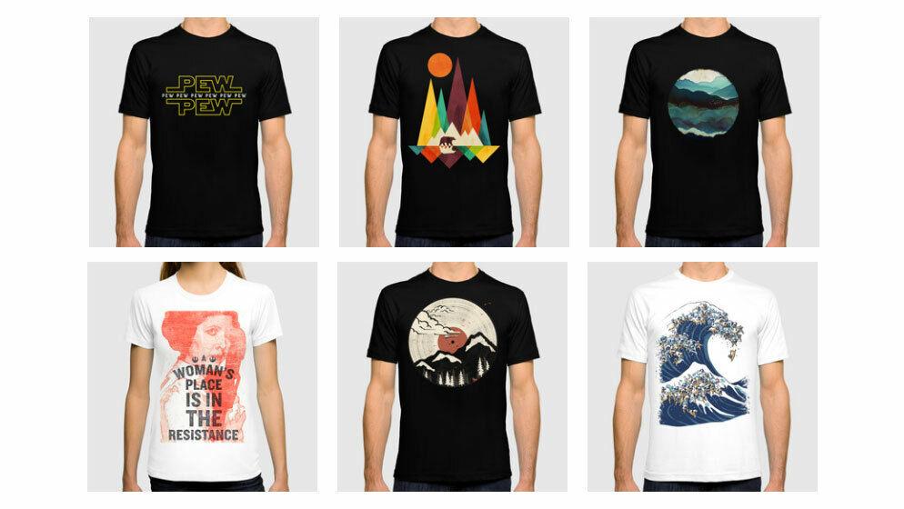 I Will Design Custom T-Shirt - $9.99