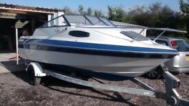 SUNBIRD CORSICA 188 CUDDY CABIN WITH OMC FORD INBOARD ENGINE NOT OUTBOARD , BAYLINER SEARAY BOAT