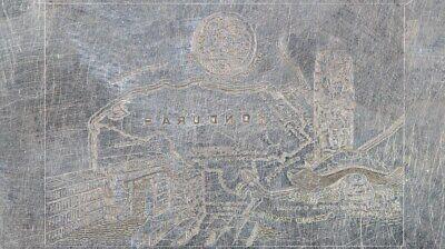 American Bank Note Company: Honduras Printing Plate