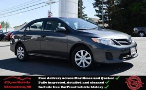 2012 Toyota Corolla CE Great Condition, One Owner !!