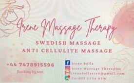 Irene massage therapist