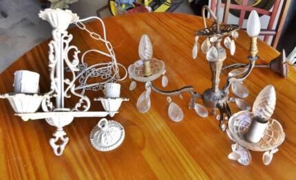 Antique chandeliers x 2