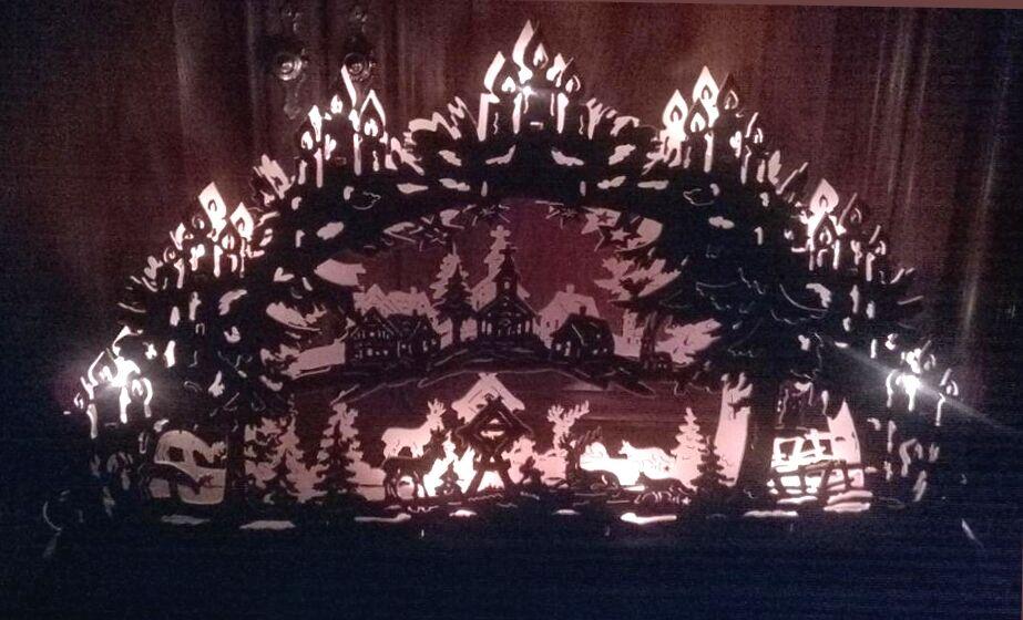 weihnachten cd mit buch 18 19 20 21 22 23 pattern 122x. Black Bedroom Furniture Sets. Home Design Ideas