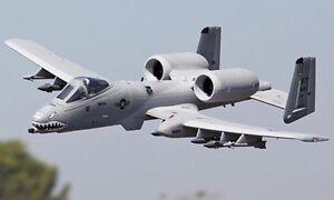 LX 1.4M RC A10 Warthog KIT Model Jet Plane Twin EDF W/O RC Battery&Electronics