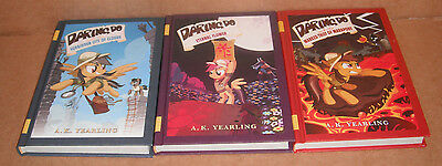 My Little Pony The Daring Do Adventure Vol.1,2,3 by A. K. Yearling HB NEW