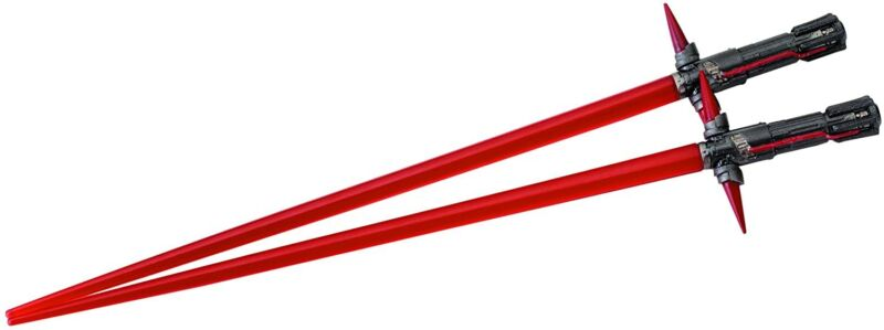Kotobukiya Star Wars Lightsabers Chopsticks Kyle Ren Set USA Seller