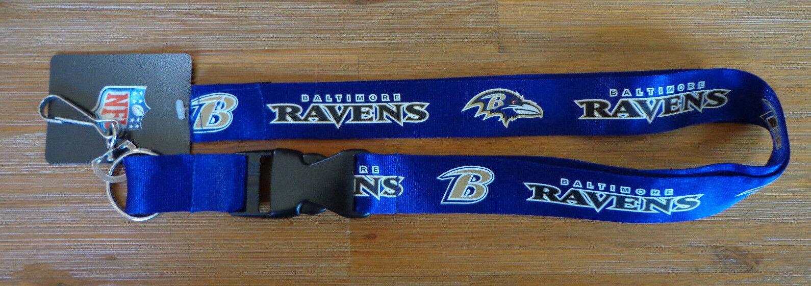 NFL Breakaway Lanyard Keychain TEAM COLOR Official licensed ( ALL TEAMS )