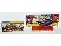 267 Rocket Firing Batmobile mit Innendisplay Reprobox Corgi Toys Nr