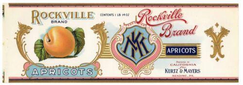 ROCKVILLE Brand, Reading, Pennsylvania **AN ORIGINAL 1920