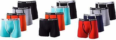 Spandex Stretch Briefs (Knocker Men's 4  Stretch Cotton Color Cotton & Spandex Boxer Briefs)