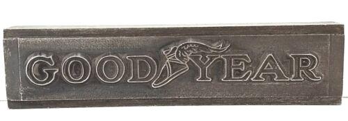 GOODYEAR 1930s Printers Watermark Metal Die Block