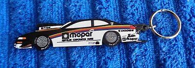 NOS NEW Genuine MOPAR Original Chrysler Rubber Racing NASCAR Keychain Key Fob