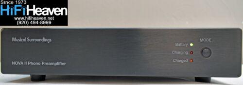 Musical Surroundings Nova II dual-mono battery-powered MM/MC Phono Preamp