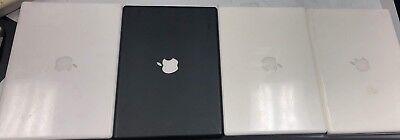 Lot of 4 Apple MacBook . Core 2 Duo. Black & White