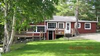 Rustic cottage for rent on Star Lake, ON near Timmins