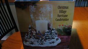 Hurricane Lamp Christmas