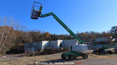 2012 Genie S-45 Diesel 45 Telescopic Boom Lift 4wd Aerial Manlift Jib Bidadoo