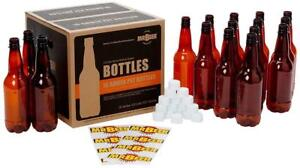 New Mr. Beer Homebrewing 2 Gallon Deluxe Beer Bottling System, 0.5-Liter Condition: New