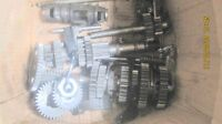 raptor 700 complete transmission gears shaft drum fork rod, use