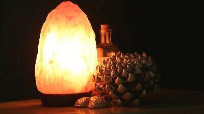 Del Himalaya Natural Lámpara de Sal Cristal de Roca Rosa Curativo Ionizing...