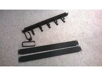 2 x 1U Blanking Plate & 2 x StarTech 1U D-Rings & 1U 5 Ring Cable Management Bar CAN POST/DELIVER