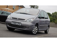 Citroen Xsara Picasso 1.6 2003 Low Milage Long M.O.T