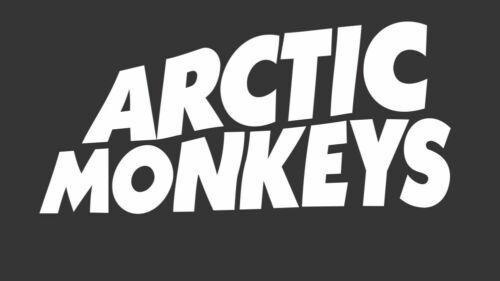 2 ARCTIC MONKEYS decal BAND LOGO vinyl sticker QTY 2 rock metal kroq indie