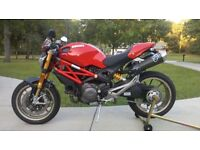 Ducati Monster 1100S breaking all parts spares engine wheels Ohlins forks wheels 1100