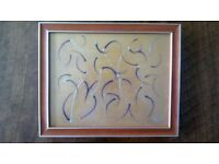 Aesthetic Abstract Painting For Sale