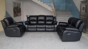***ON SALE *** NEW 3 PIECE FURNITURE LIVING ROOM COUCH SET LOVE SEAT RECLINER COMBO LIVING ROOM