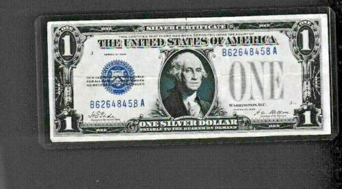 1928  $1 Silver Certificate  note,