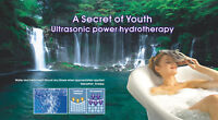 One session of ultrasonic hydrotherapy