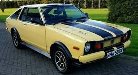 Classic Datsun Sunny 140Y Coupe, 1980, 47k miles, full yr mot.