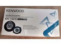 Pair of Kenwood car speakers
