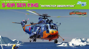 Cyber Hobby 1:72 S-61 A Sea King Antarctica Observation Helicopter Kit #5111