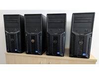 4x DELL PowerEdge T110 II - 8 core CPU, 32GB RAM, no hdd