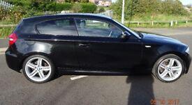 BMW 118D M-SPORT AUTO HATCH (E81) ONLY 38259 Miles