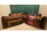 Elegant hand made womens purse from Morroco.
