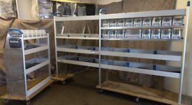 Sortimo Globelyst M Van racking, van shelving, box tidy, lin bins, S174